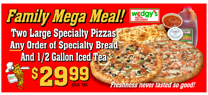 Family Mega Meal Deal