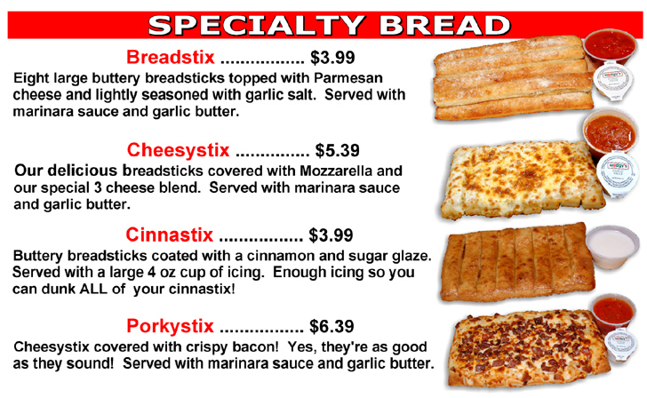 Awesome Specialty Breads!